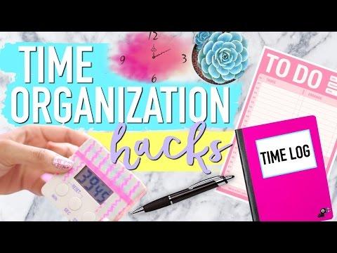TIME ORGANIZATION HACKS You NEED to KNOW | Paris & Roxy