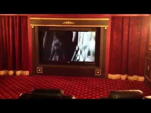 DIY vintage inspired theatre room Part 2