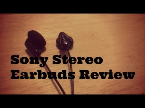 Sony Stereo Earbuds (MDR-E9LP) Review