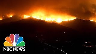 Deadly Wildfire Rages In Hills North Of Los Angeles | NBC News
