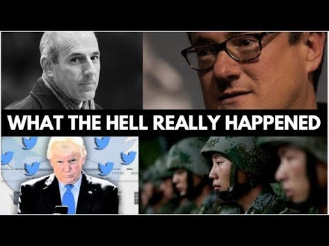 The Truth Behind Matt Lauer and Joe Scarborough Exposed By Trump?