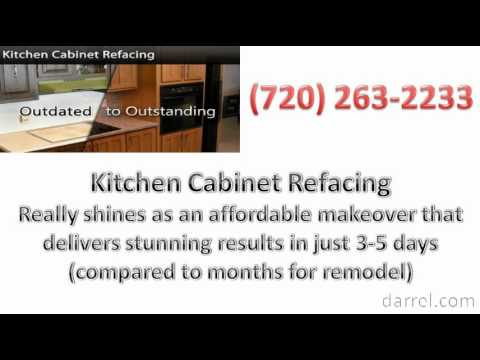 Thinking About Replacing Your Kitchen Cabinet Aurora Residents? - Reface Instead