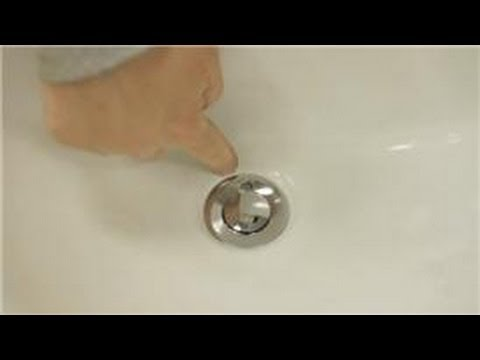 Sink Maintenance : How Do I Remove a Sink Pop-Up Drain?
