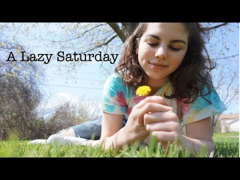 A Lazy Saturday | vlog