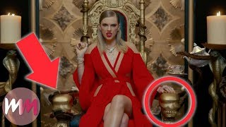 Top 10 References You Missed in Taylor Swift