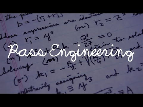How To Pass Engineering
