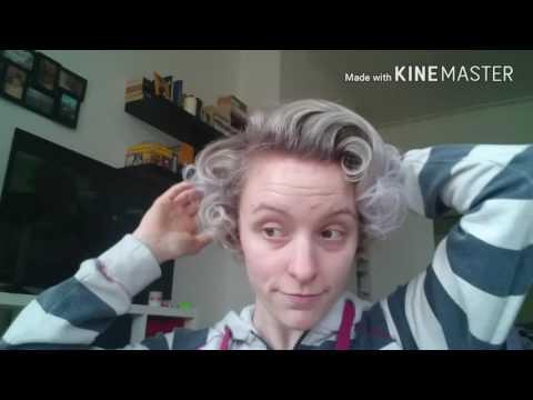 Marilyn Monroe hair for short hair