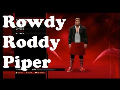 WWE 2k14 - Rowdy Roddy Piper ist im im Spiel | TheXardas94