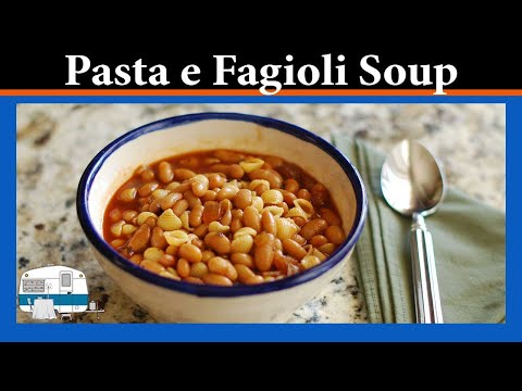 How to make Pasta Fagioli, a pasta and bean soup, with a pressure cooker