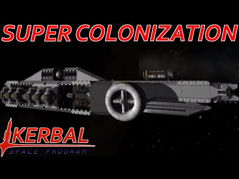 [22] Interplanetary Mothership | Modded KSP : Super Colonization