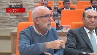 Elazığ Belediye Meclis Toplantısı Kasım Ayı Üçüncü Oturumu