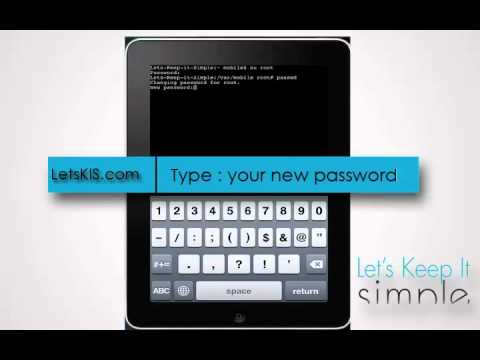 How to Fix Forgotten Password on iPhone, iPad or iPod touch with MobileTerminal