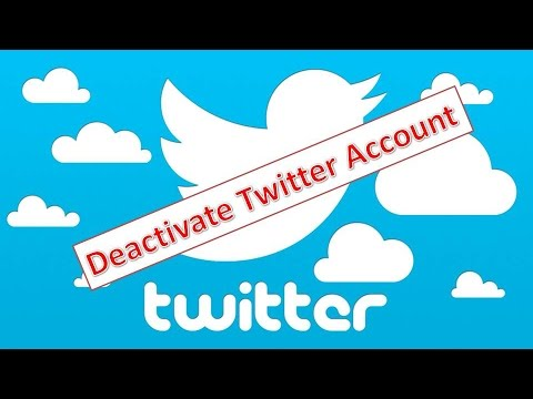 How To Delete or Deactivate Your Twitter Account 2016