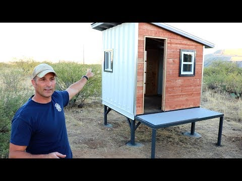 Is it a Tiny House? - Shipping Container Playhouse  - Part 2