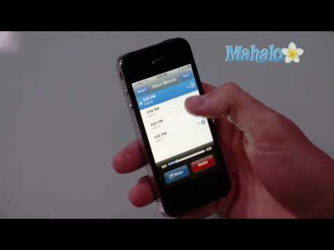 How to record and share voice memos on iPhone 4
