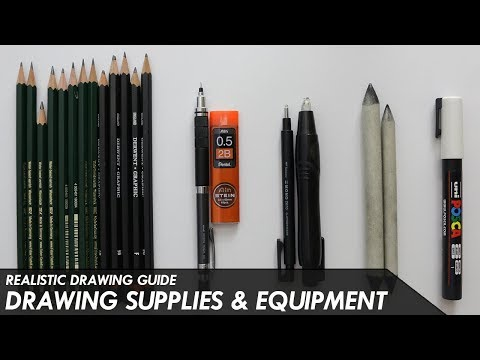 DRAWING SUPPLIES & EQUIPMENT (What You Need) - Realistic Drawing Guide