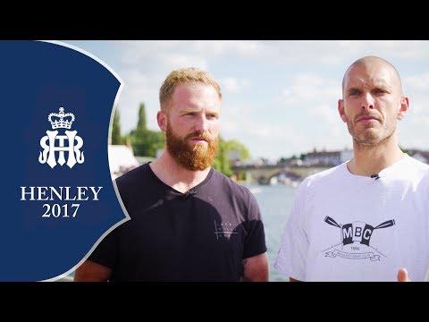 Why GB rowers Will Satch & Moe Sibhi love Henley Royal Regatta