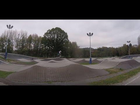 BMX RACE // riding in  Montluçon - Bike Park [2018]