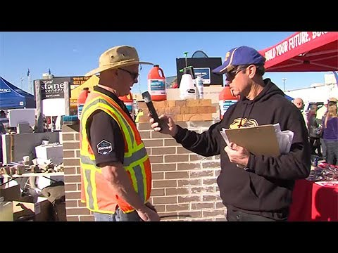 Masonry Wall Cleaning Demonstration by PROSOCO