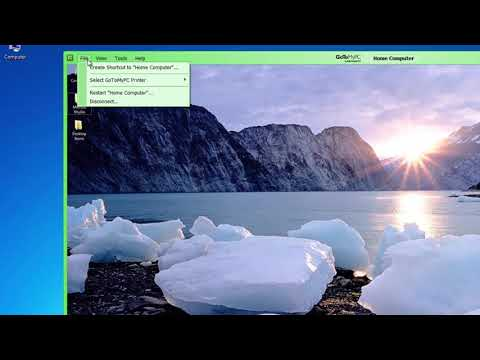 GoToMyPC Desktop Shortcuts