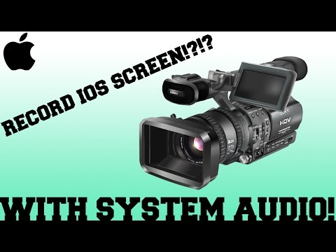 Record Ios 10+ Screen With System Audio FOR FREE!