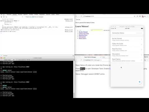 Offline First React Native + Meteor
