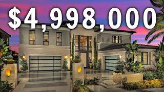 TOURING A $4,998,000 LUXURY MANSION   California LUXURY Home Tour   California Mansion Tour