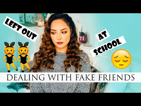 HOW TO DEAL WITH FAKE FRIENDS & SCHOOL DRAMA