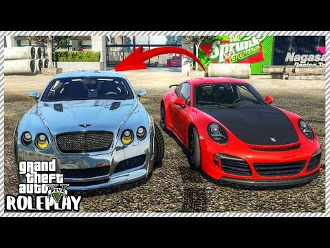 GTA 5 ROLEPLAY - Traded my Porsche 911R for Bentley Continental GT | Ep. 299 Civ