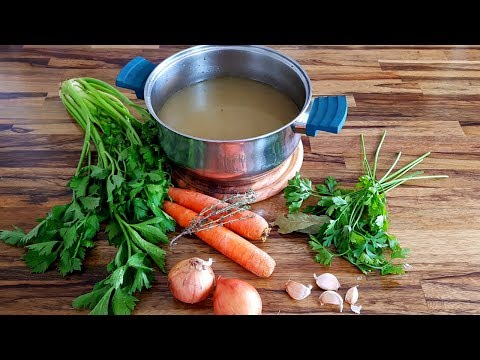 How to Make Vegetable Stock | Vegetable Broth Recipe