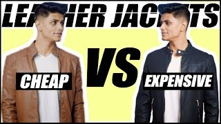Cheap VS Expensive LEATHER JACKETS | Man