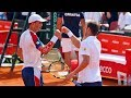 Most INTENSE Tennis Doubles Match Ever 60FPS