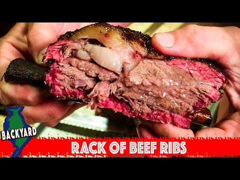 How to Smoke a Rack of Beef Ribs