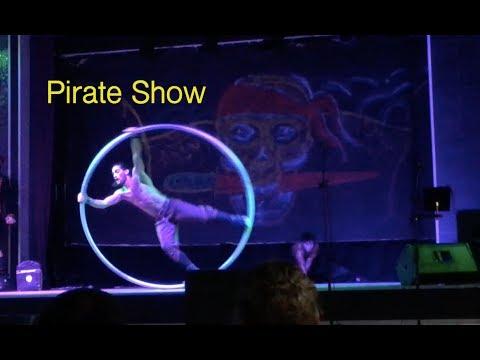Hotel Riu Palace Aruba- Pirates Show