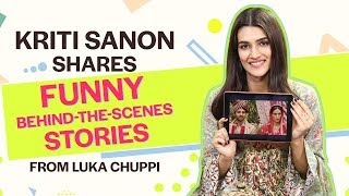 Kriti Sanon shares funny behind-the-scenes stories from Luka Chuppi | Bollywood | Pinkvilla