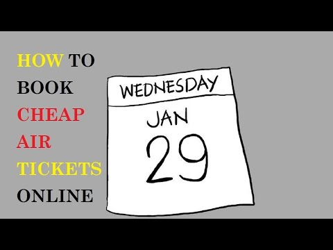 How to Book Cheap Air Tickets Online