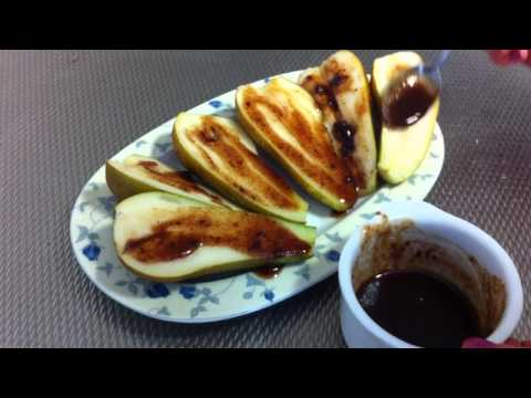 Grill Cinnamon Pears / Grilled fruit with cinnamon