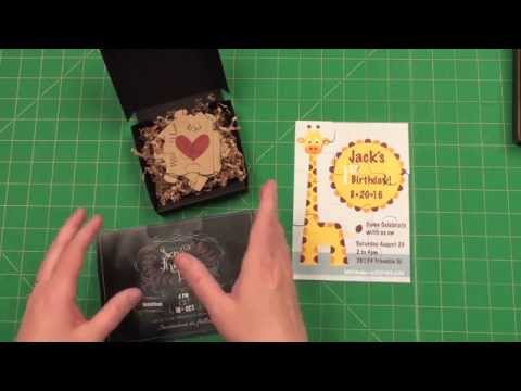 DIY A7 Puzzle Invitation or Save the Date
