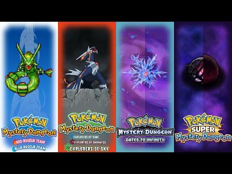 Pokémon Mystery Dungeon - All Final Boss Battle Themes