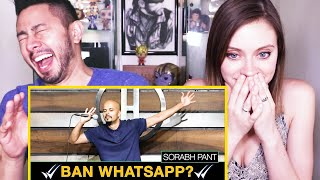 SORABH PANT   Uncles on Whatsapp   Stand Up Comedy   Reaction w/ Jaby & Amy!