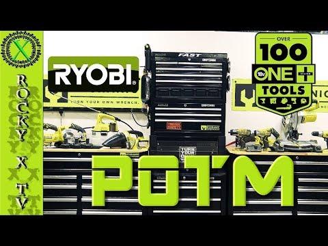 Ryobi ONE 18V Cordless Power Tools (POTM)