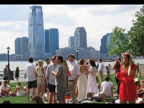 Swedish Midsummer 2015 at Battery park, Manhattan New York