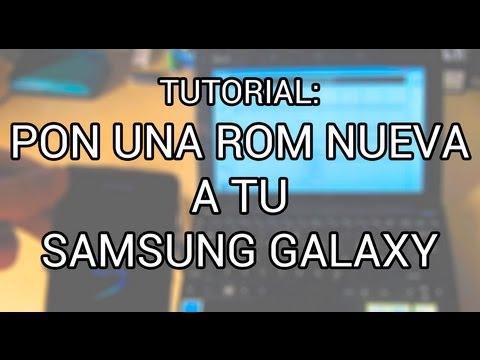 Flashear ROM en Samsung Galaxy (S, Mini, Ace, SII, SIII... cualquier Galaxy)con ODIN