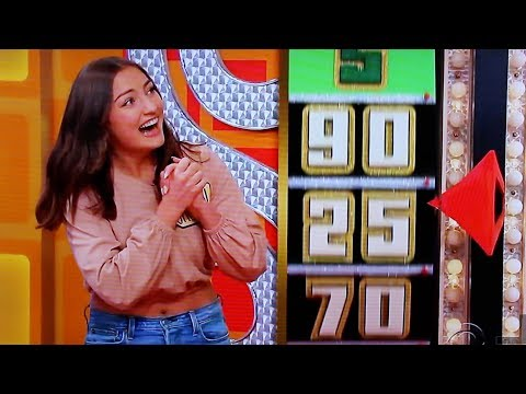 JACLYN FORBES WON ON THE PRICE IS RIGHT!