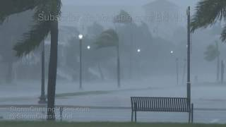 Punta Gorda, FL Irma Intense Core Winds - 9/10/2017