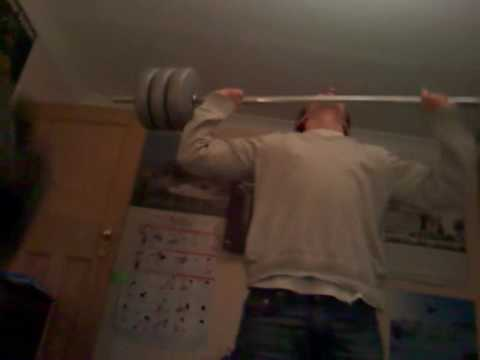 Home Made Olympic Weight Lift