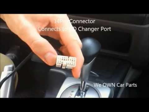 Honda Civic iPod/iPhone/iPad AUX Adapter Easy Installation