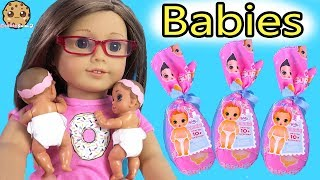 Color Changing Surprise Blind Bag Babies with American Girl Doll - Video