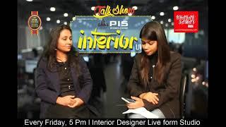 Download Talk Show PIS Interior live with Sweta Gidra Aditi Goye Interior Designer at #KhabarSamay Video