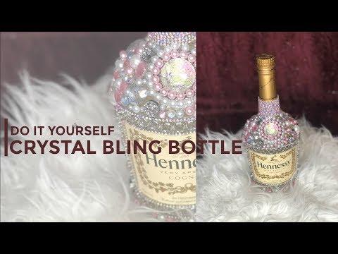 DIY Crystal Bling Bottle